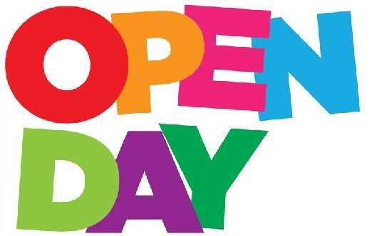 Open day: Sabato 30 Nov 2019 e Domenica 19 Gen 2020